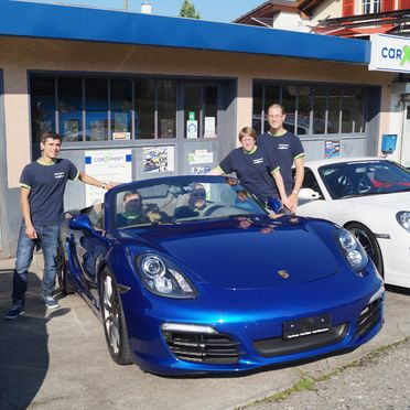 TOP Garage - Team und Auto
